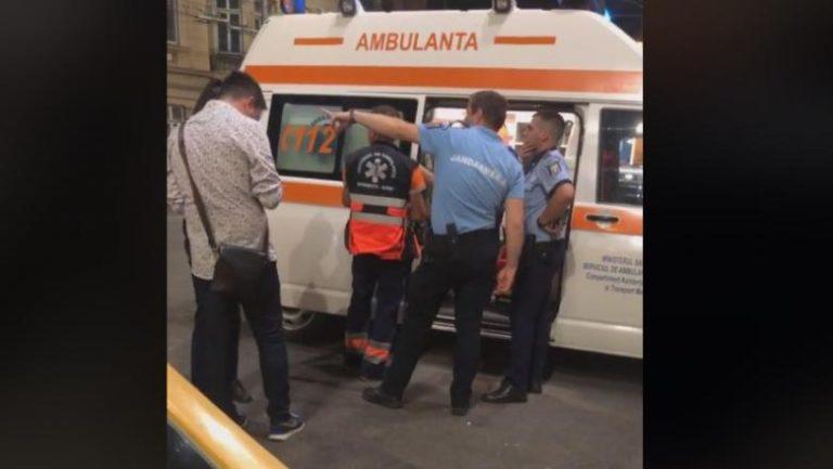 Barbat impuscat in cap sambata seara, in zona Mosilor din Sectorul 2