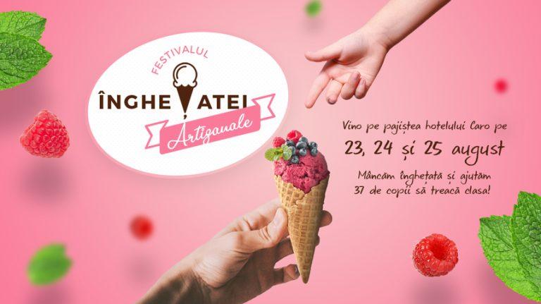 Incepe Festivalul Inghetatei Artizanale, eveniment unic in Bucuresti