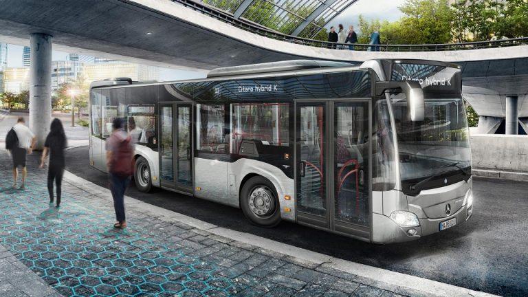 Asa arata noile autobuze Mercedes care vor circula prin Bucuresti