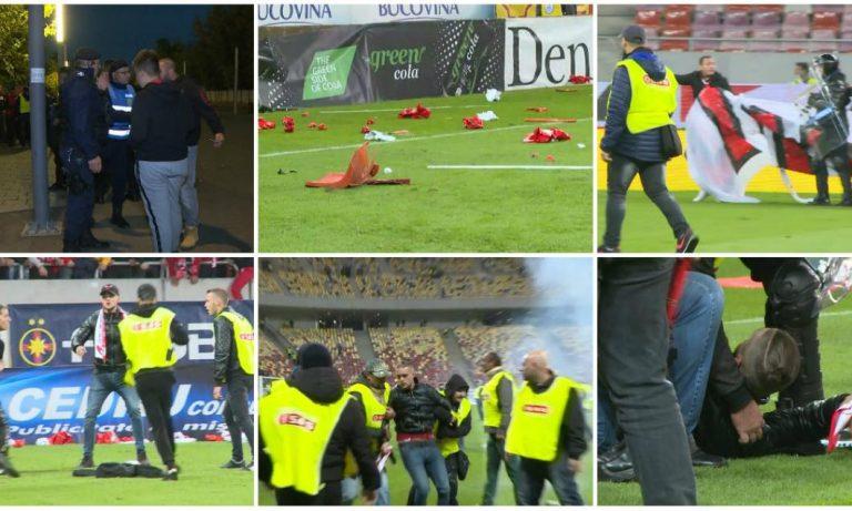 FRF a amendat echipele FCSB si Dinamo dupa violentele din galerii