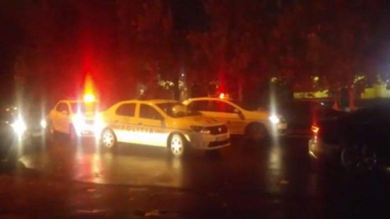 Sofer oprit azi-noapte de Politie dupa mai multe focuri de arma in Bucuresti