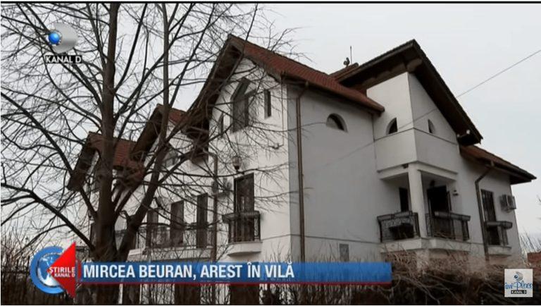 """Asa arata palatul din Bucuresti unde doctorul Mircea Beuran este """"arestat"""" la domiciliu!"""