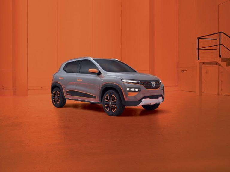 "Dacia a prezentat ""Spring"", primul model electric din istoria companiei"