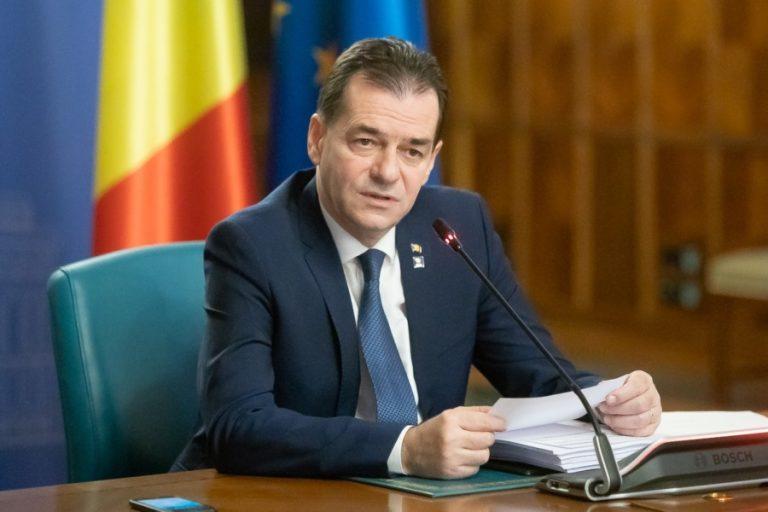 Premierul Orban spune ca testele aleatorii anuntate de Firea in Bucuresti sunt povesti fara nicio noima